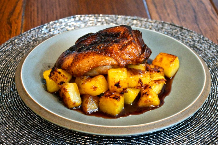 Oven-Roasted Duck Breast with Caramelised Swede