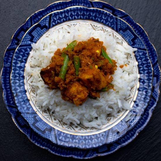 balti veg curry