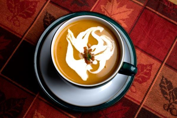 Balti Butternut Squash Soup