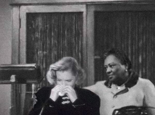 Louise Beavers and Jean Arthur