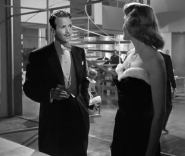 Douglas Fairbanks Jr and Patricia Neal