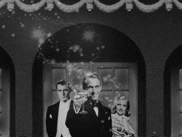 Gary Cooper, Douglas Fairbanks Jr and Jean Arthur