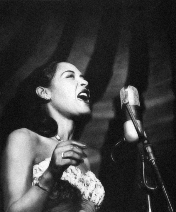 Billie Holiday as Edee Darling in You Can Take Your Fountainhead With You and Swing It!