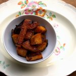 Maple Roasted Sweet Potato