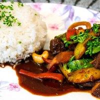 Chinese 5 Spice Pork Stir-fry