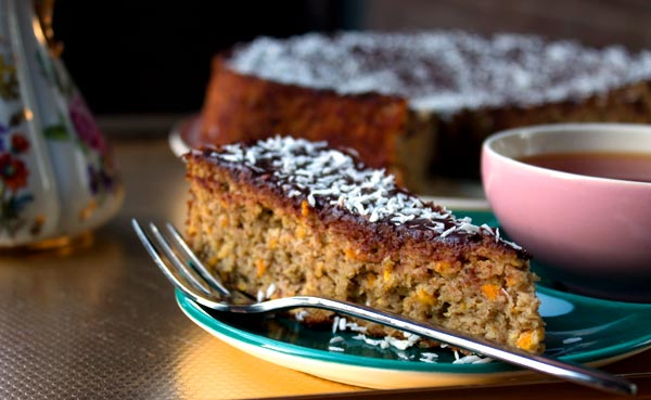 Whole Orange Cake (with a little Chocolate)
