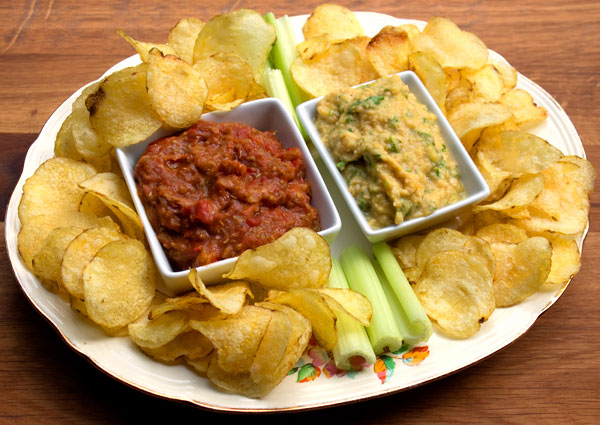 crisps and dips