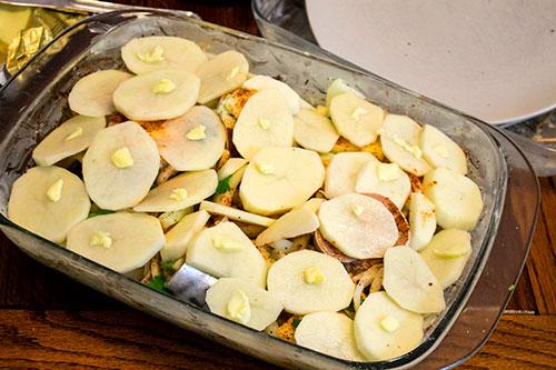 pre baked mackerel in cider