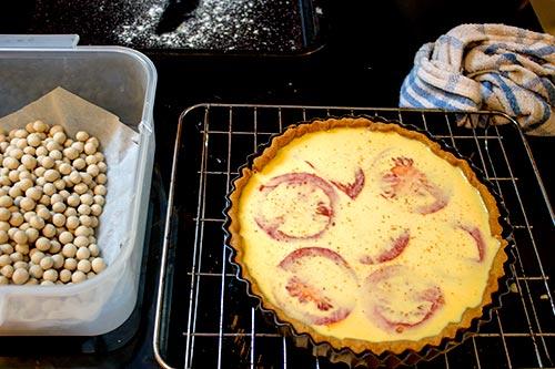 quiche pre bake
