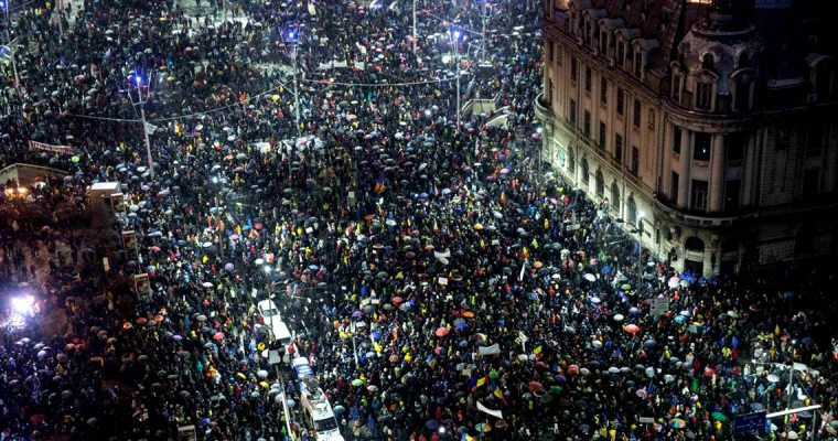 Protests in Romania