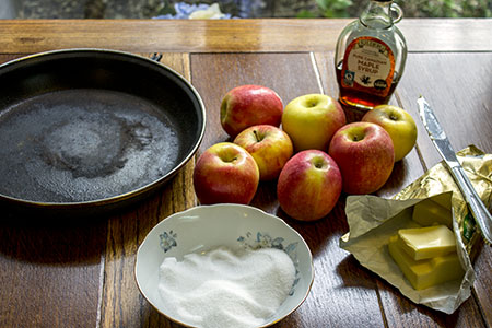 caramelised apples ingredients