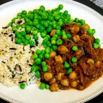 Nine Spice Chick Pea Stew