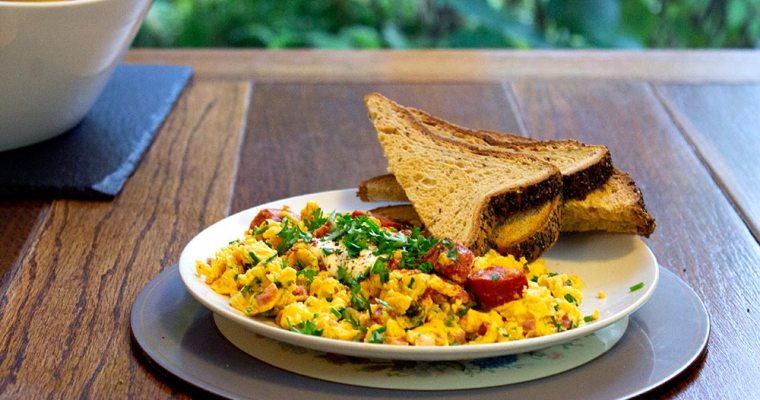 Hungarian Scrambled Eggs