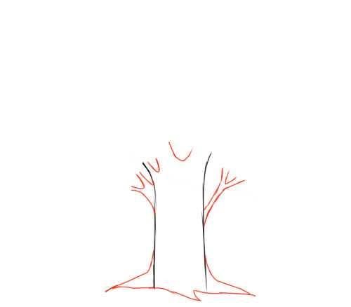 Как нарисовать у лукоморья дуб зеленый поэтапно с котом ...