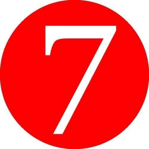 На что похожа цифра 7 картинки – Цифра 7 в стихах ...