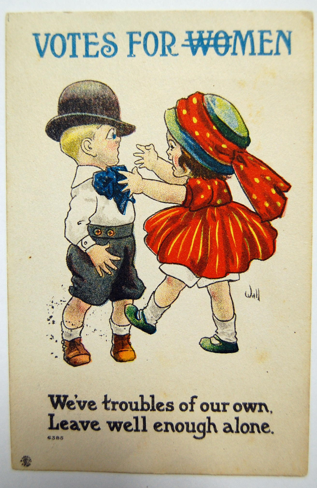 Feature Anti Women S Suffrage Cartoons Twin Cities Arts