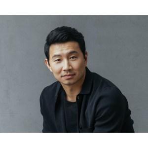 Simu Liu signed headshot