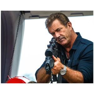 Mel Gibson Signed 11x14 Expendables Photo