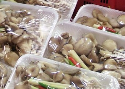 Mushrooms at the Hmongtown Marketplace
