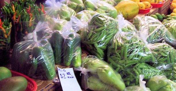 Produce at the Hmongtown Marketplace