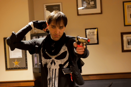 Punisher cosplayer