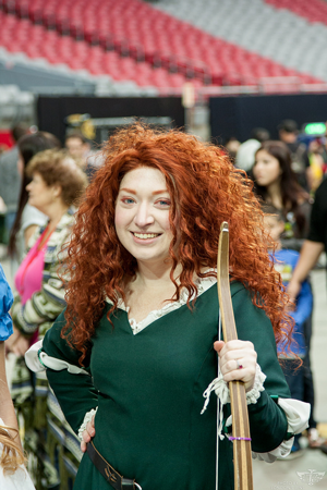 Merida cosplayer (Photo by Kai)
