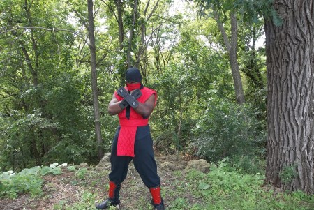 Ninjabearbear09 as Ermac