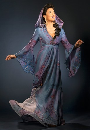 Character portraits of Aladdin by Cylla von Tiedemann. Photographer © Broadway.com