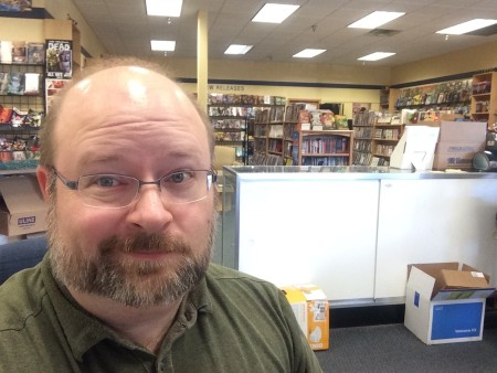 Andrew Troth at Mind's Eye Comics