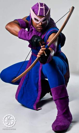 Solsounder as Hawkeye (Photo by Drake Larson)