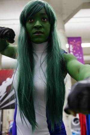 Alana Profit as She-Hulk. Photo by Silverfoxviz