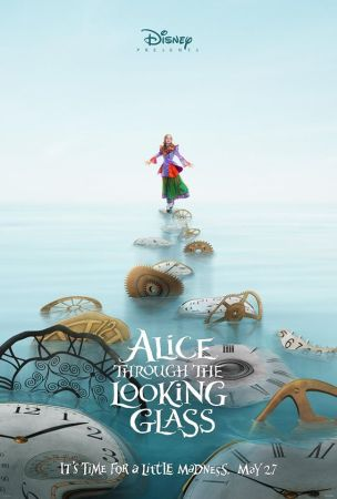 Alice through the Looking Glass poster featuring Alice