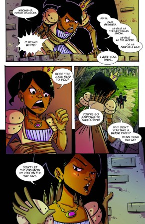 A preview of Princeless #1 from Action Lab Comics