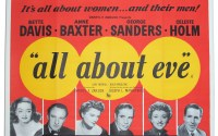 "Theatrical poster for ""all about eve"""