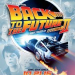 Movie poster for the 2015 re-release of Back to the Future II