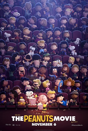 Poster for The Peanuts Movie, 2015