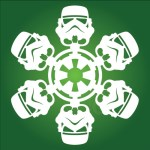 Star Wars Snowflake Cut Out