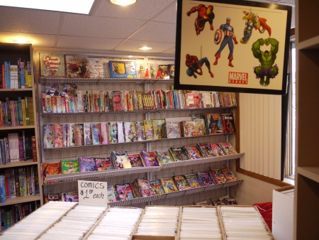 All-ages section