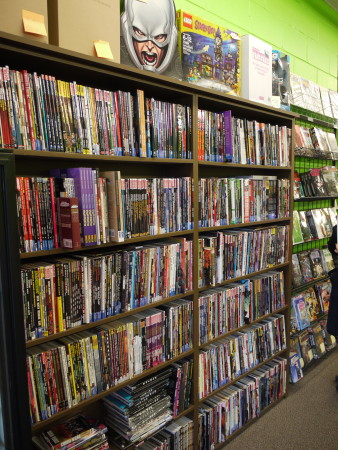 More shelves of trade paperbacks