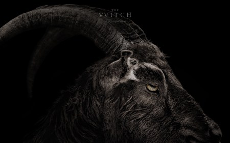 Black Phillip (Image courtesy A24 Pictures)