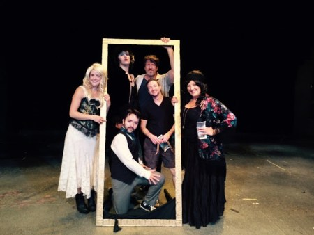 "Cast and director of ""Dragula"" by Darrin Hagen and Trevor Schmidt, 2015"