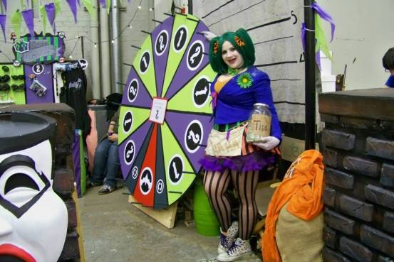 The Arkham Asylum comic carnival at MSP ComiCon 2015 via MCBA