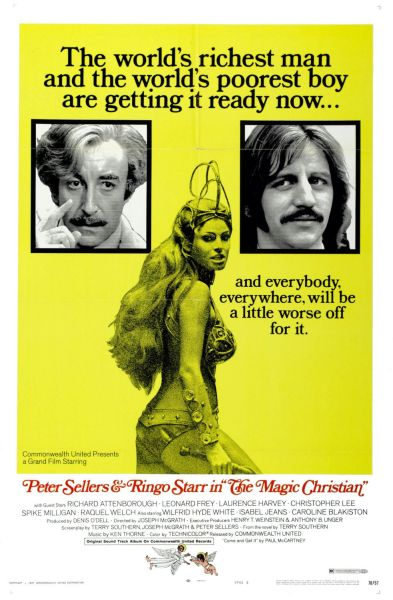 Theatrical poster for The Magic Christian.