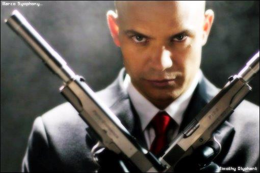 Agent 47 from Hitman