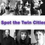 "Header featuring the words ""Spot the Twin Cities Geek"" and the photographs of the people featured in the article"