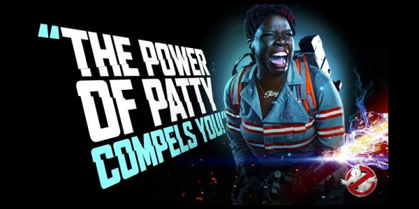 Ghostbusters character poster for Leslie Jones