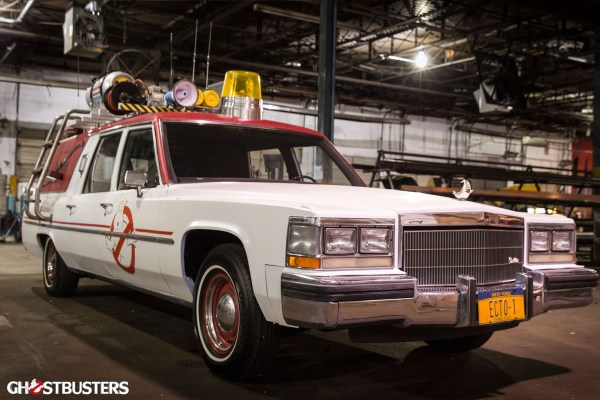 The Ecto-1 vehicle
