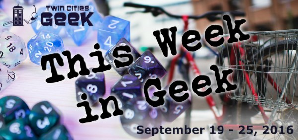 This Week in Geek header for the week of September 19, 2016