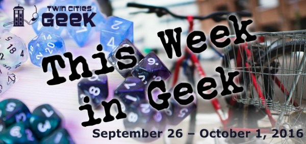This Week in Geek header for the week of September 26, 2016