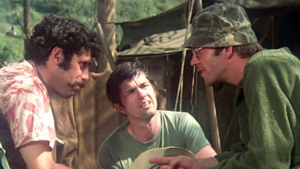 Trapper John and Hawkeye shut down Duke's bigotry in M*A*S*H.